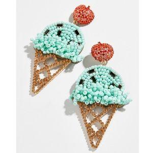 BaubleBar Mint Ice Cream Cone Earrings